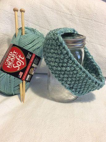 FREE KNITTING PATTERN - SEED STITCH HEADBAND   Knitting   Pinterest ...