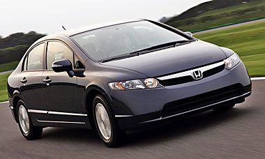 2008 Honda Civic Hybrid 40 45 Mpg $14000