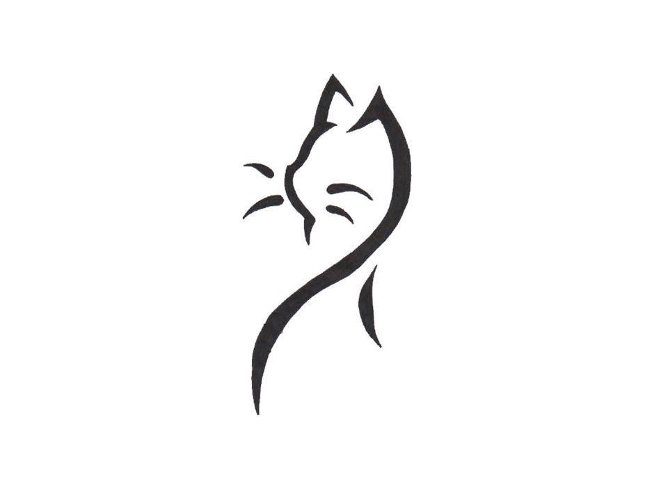 Cat Tattoo Simple Tattoo Designs Cat Tattoo