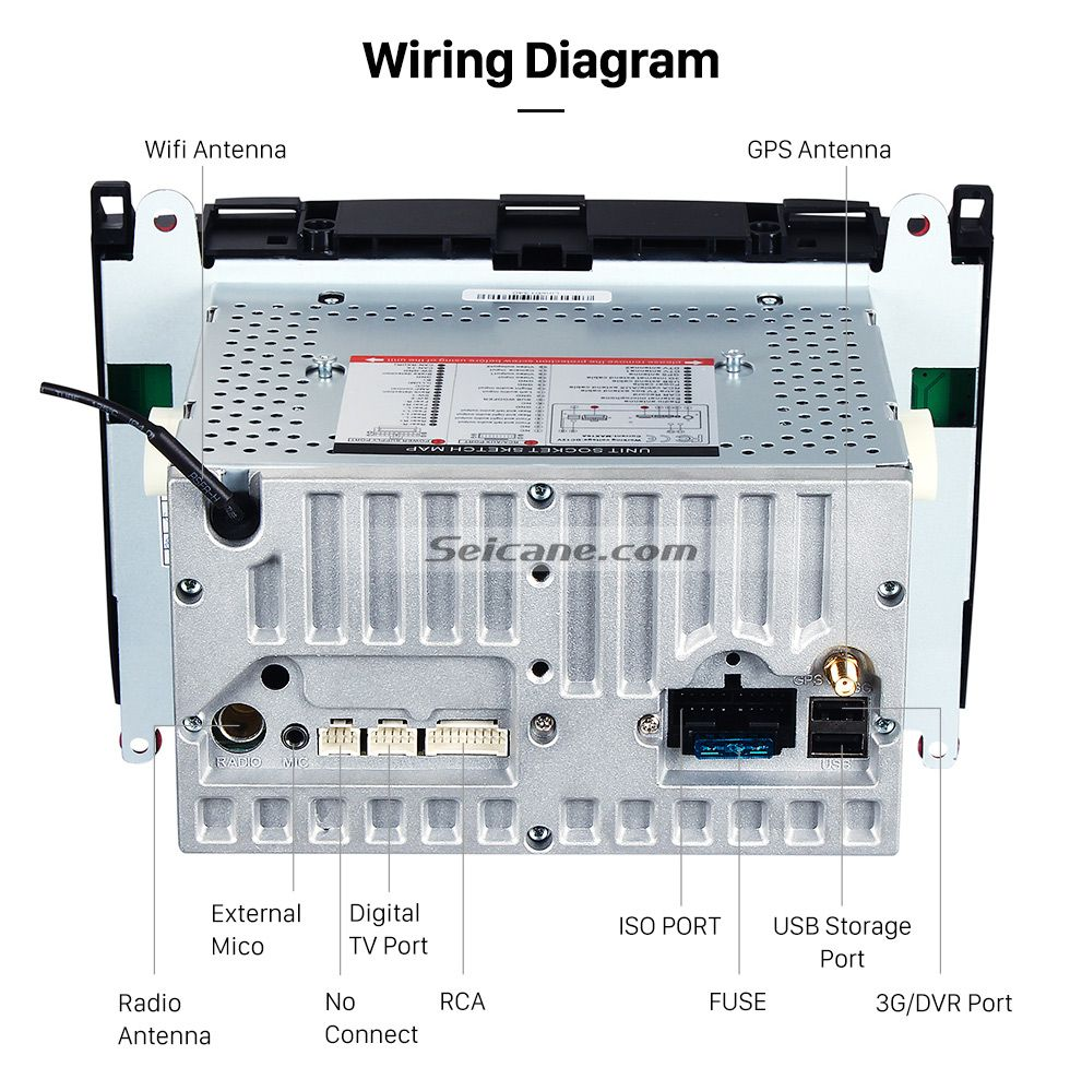 How To Install A Car Stereo System Wiring Diagram