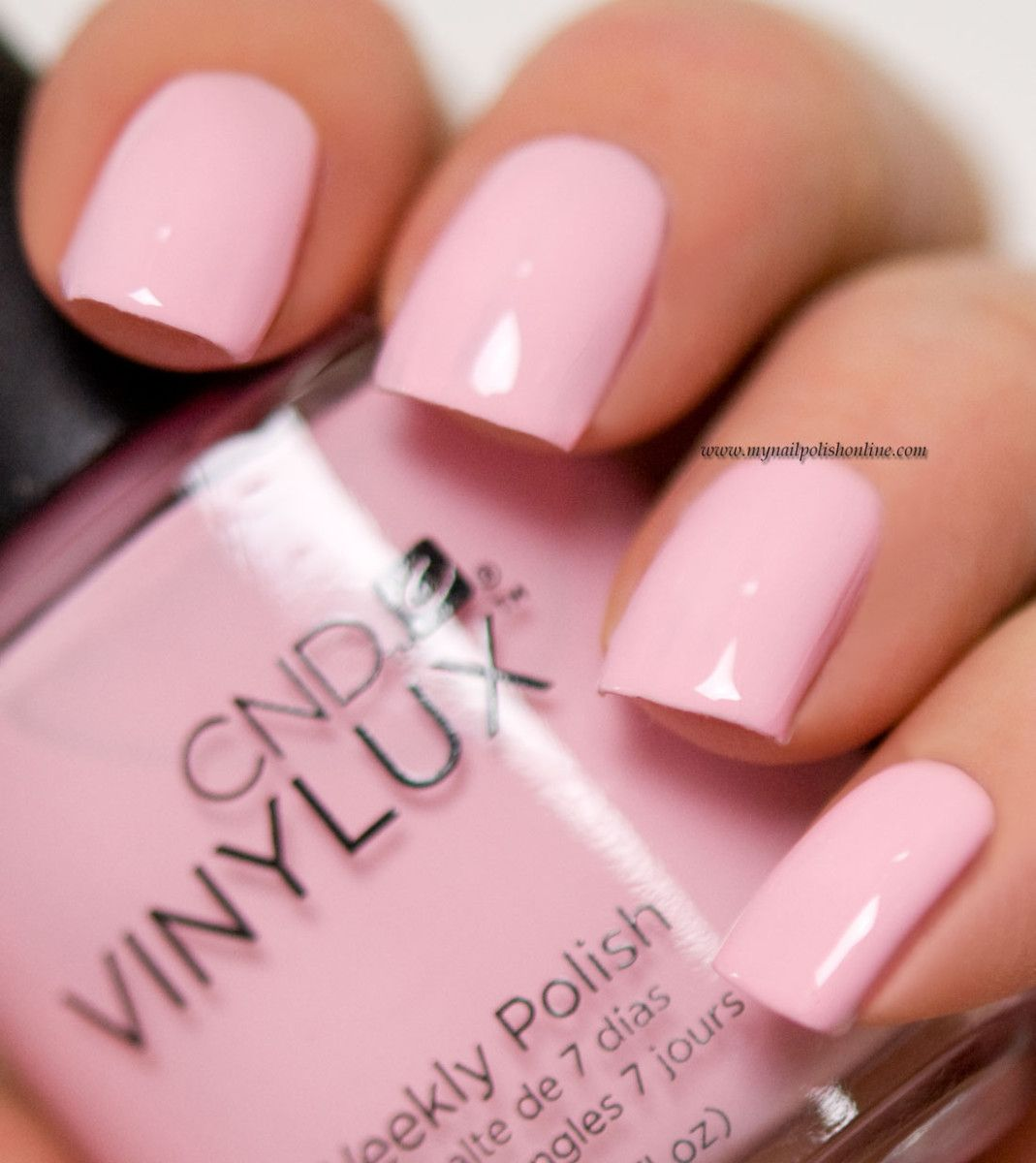 CND Vinylux - Be Demure | Cnd vinylux, Nail polish online and Cnd nails