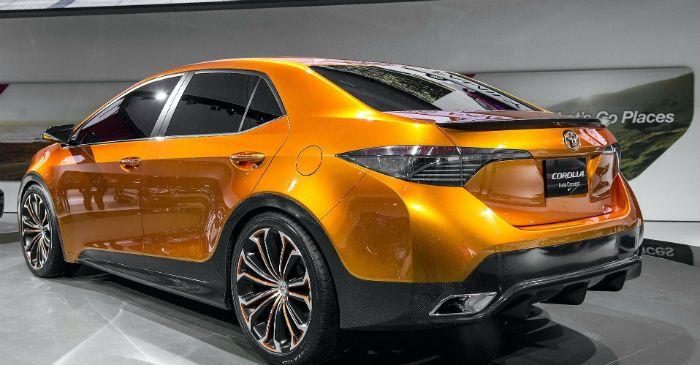 2017 Toyota Corolla S Exterior