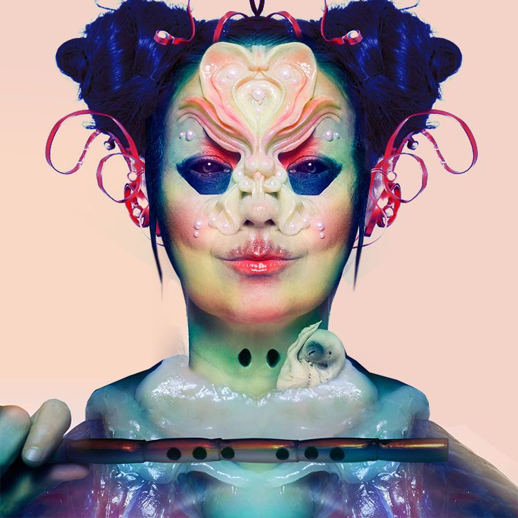 bjork make up utopia
