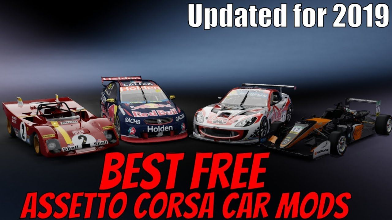 Best Free Car Mods For Assetto Corsa Pc 2019 Edition In 2020 Car Mods Free Cars Car