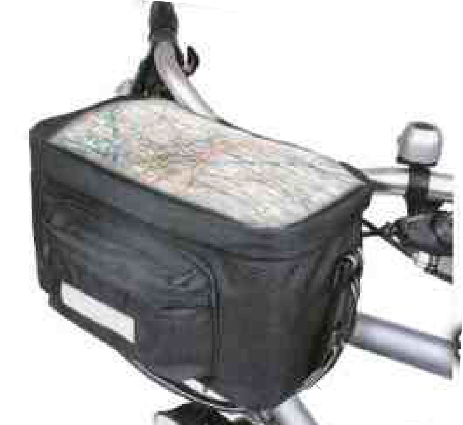 Insulated Bicycle Handlebar Bag Bike Cycle Front Pannier Map Holder