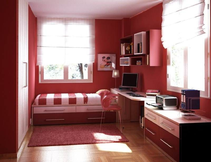 Image Result For 10 X 9 Bedroom Small Room Design Small Bedroom Decor Red Bedroom Design