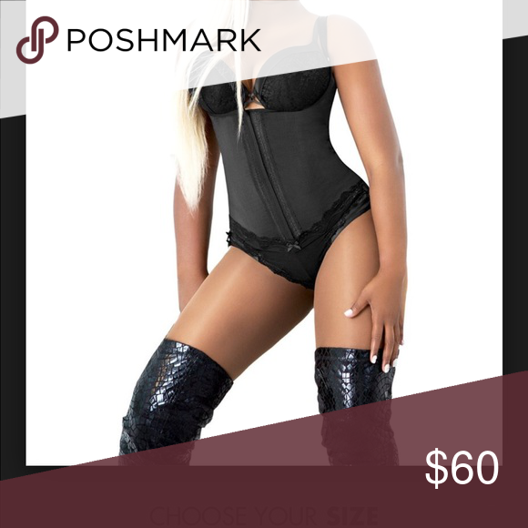 cb1c81404f Waist gang premadonna body  waist trainer. Awesome corset waist trainer.  Two rows of hooks allow for adjustment. On each side two flexible rods that  go from ...