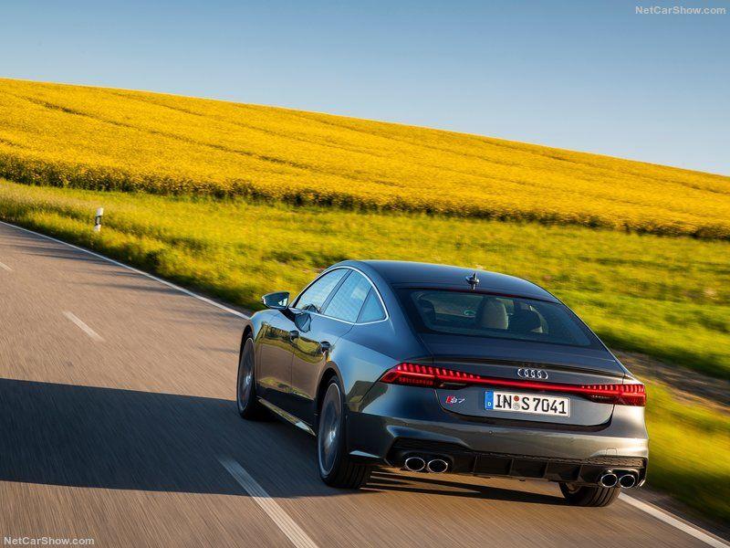 2020 Audi S7 2.9 twin turbocharged TDI V6. 257kw with 48v