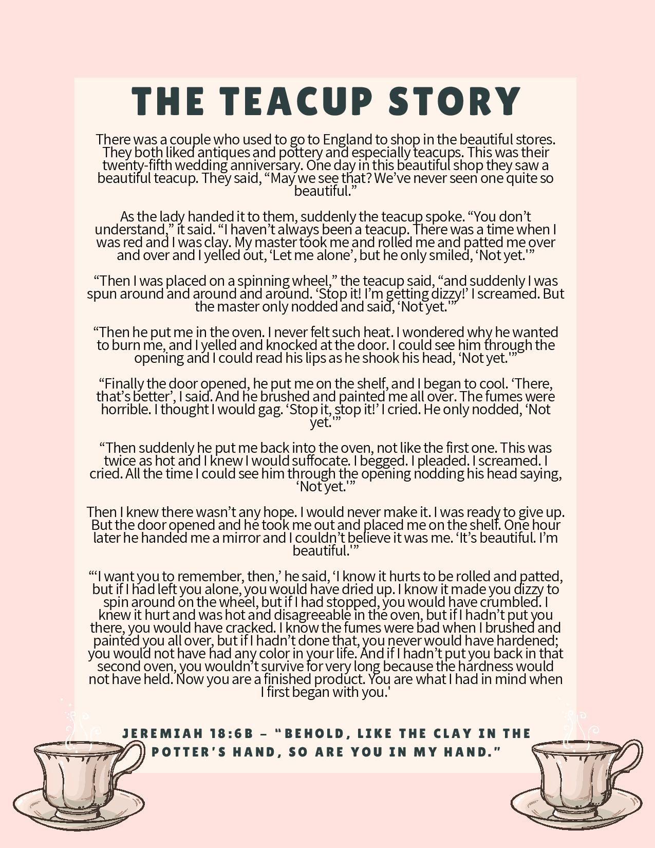 Tea Time Devotional Teach Encourage Adore Tea Party Games