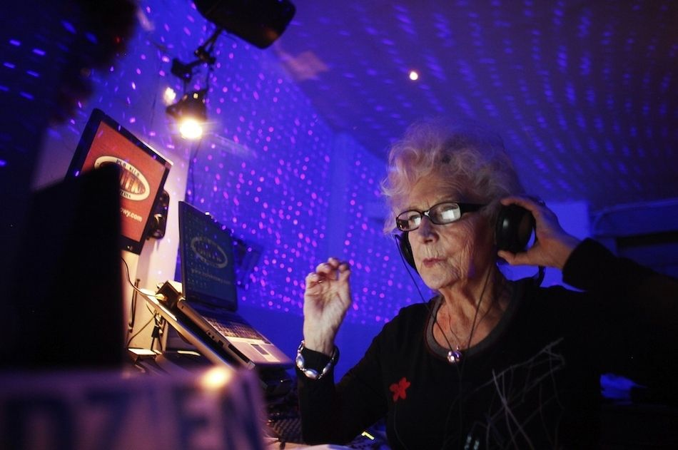 Image result for old people music and dance party