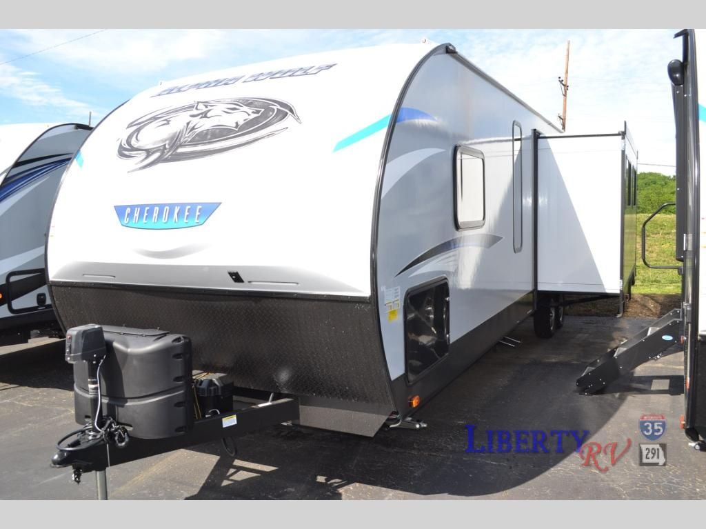 New 2019 Forest River Rv Cherokee Alpha Wolf 29qb L Travel Trailer