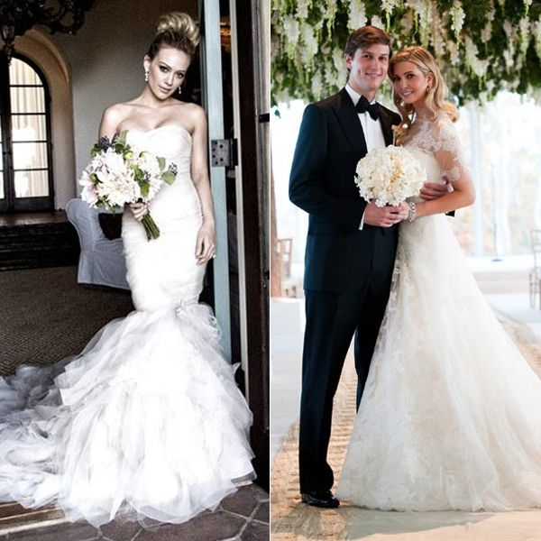 Celebrities Who Wore Vera Wang On Their Wedding Day