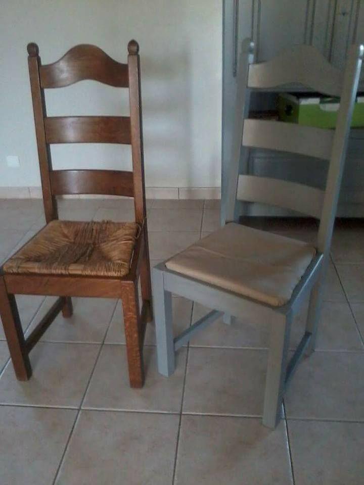 Relooking De Chaises Pour Bulledair Avec Babou Peinture Une