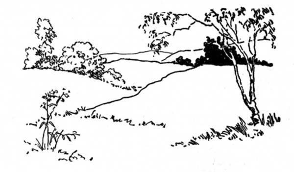 Landscapes Landscapes Up On Hills Coloring Pages With Images