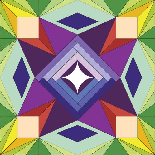 Accuquilt\'s 2013 4th Annual Barn Quilt Contest | Pinterest | Geometrie