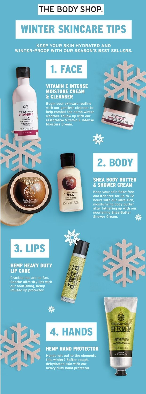 Winter Skincare Tips Body Shop Skincare Body Shop At Home The Body Shop Gifts