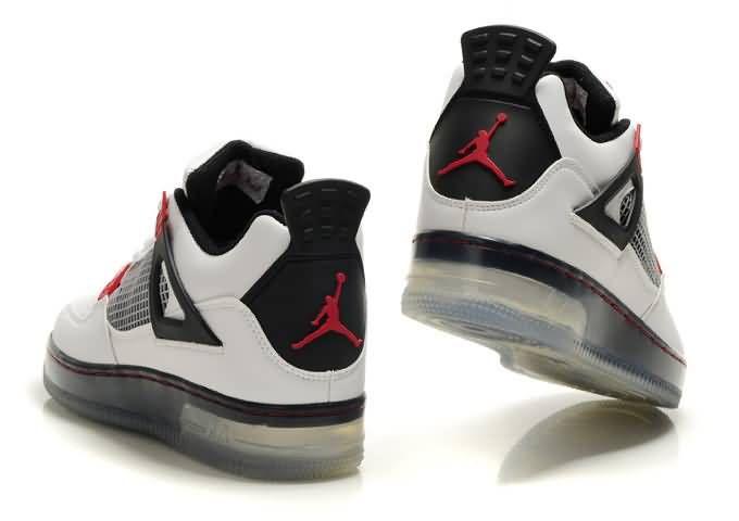 Shoe Lights Up Nike Jordan 4 Light Up Shoes White Black Red Air Jordans Jordan 4 Nike