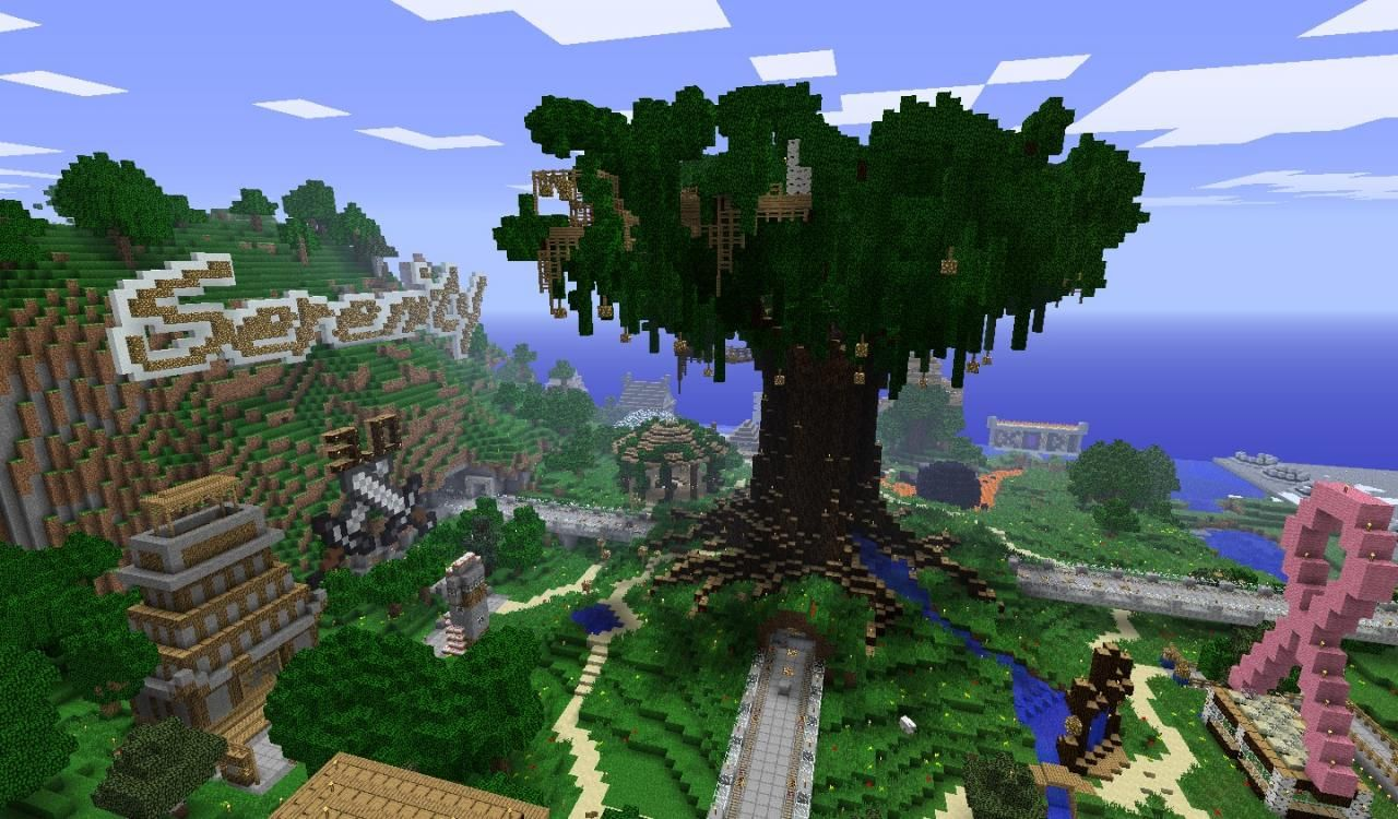 Best Minecraft Tree Houses Google Search Minecraft Tree Cute