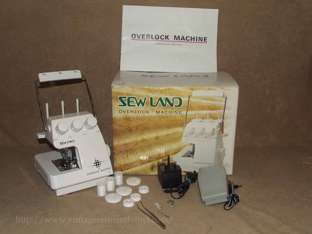 Overlock Machine Sewland Model Sm 1091 Boxed Excellent