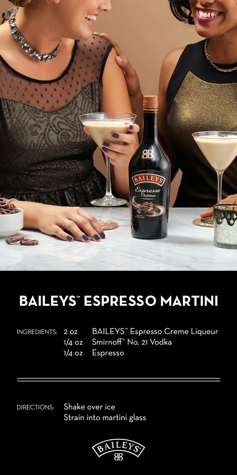 Baileys Chocolatini Cocktail when the seasons change, it's time to give your favorite