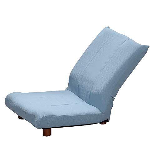 Excellent Color Blue Lazy Couch Foldable Single Small Sofa Bay Inzonedesignstudio Interior Chair Design Inzonedesignstudiocom