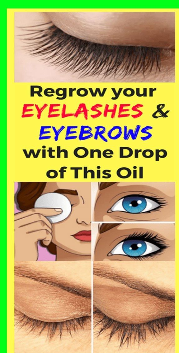 Regrow your Eyelashes and Eyebrows with One Drop of This ...