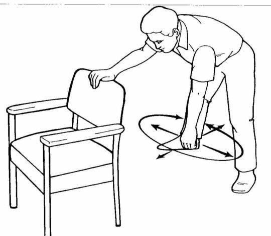 Pendulum exercise plus other shoulder. Lubricate those
