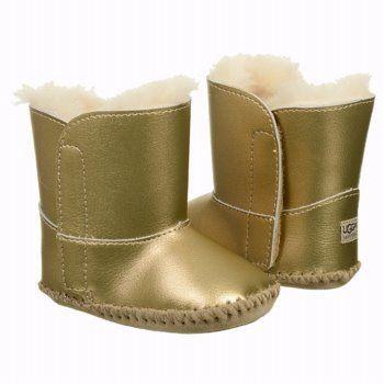 2bf56919e79 UGG Cassie Metallic Baby Booties