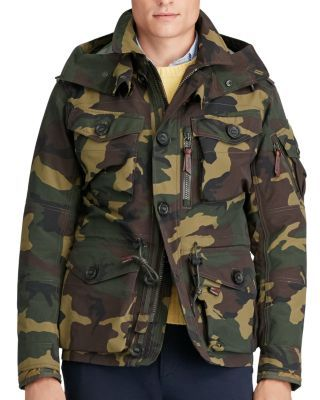 a31f8855356c5 POLO RALPH LAUREN Camouflage Hooded Utility Jacket. #poloralphlauren #cloth  #jacket
