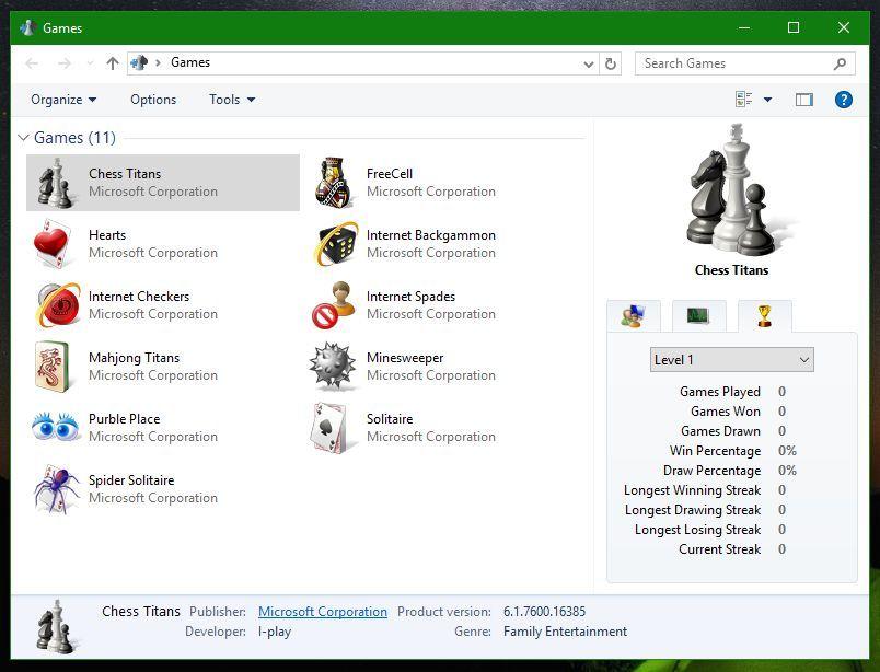 Windows 7 Oyunlari Indir Windows 10 Oyun Oyunlar