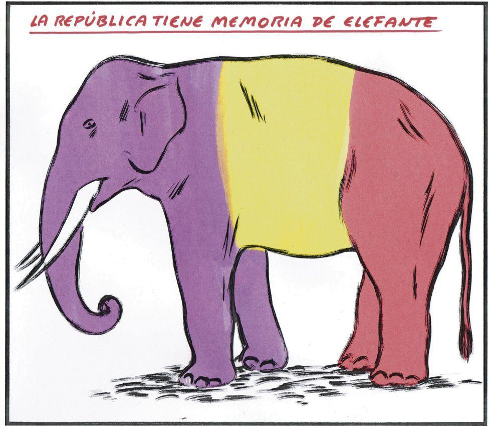 La república tiene memoria de elefante