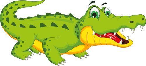 Cute Crocodile Cartoon Styles Vectors 06 Vector Animal Vector Cartoon Free Download Crocodile Cartoon Cartoon Styles Cartoon Clip Art