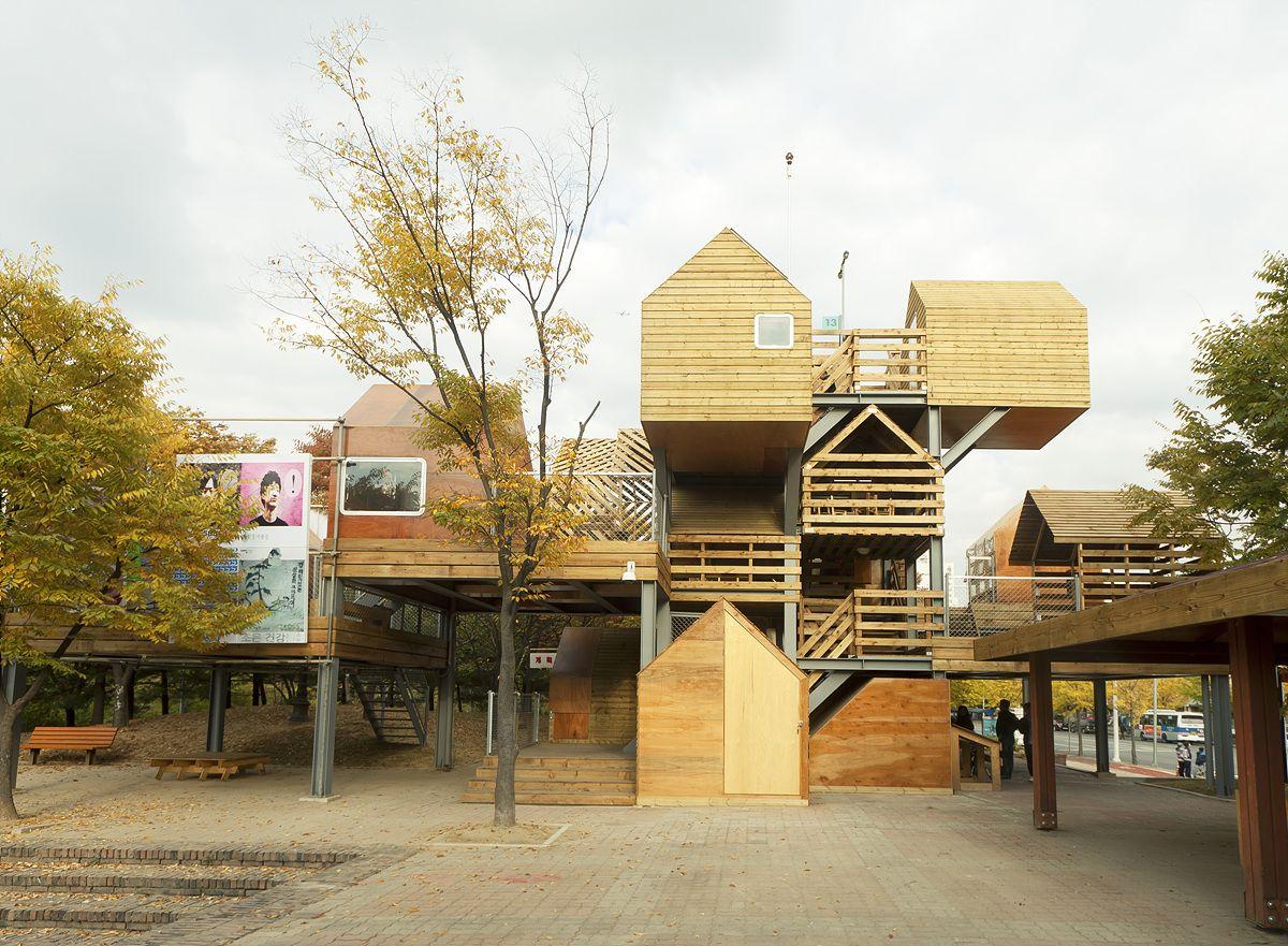 Coréia do Sul tem espaço comunitário construído pelos próprios moradores