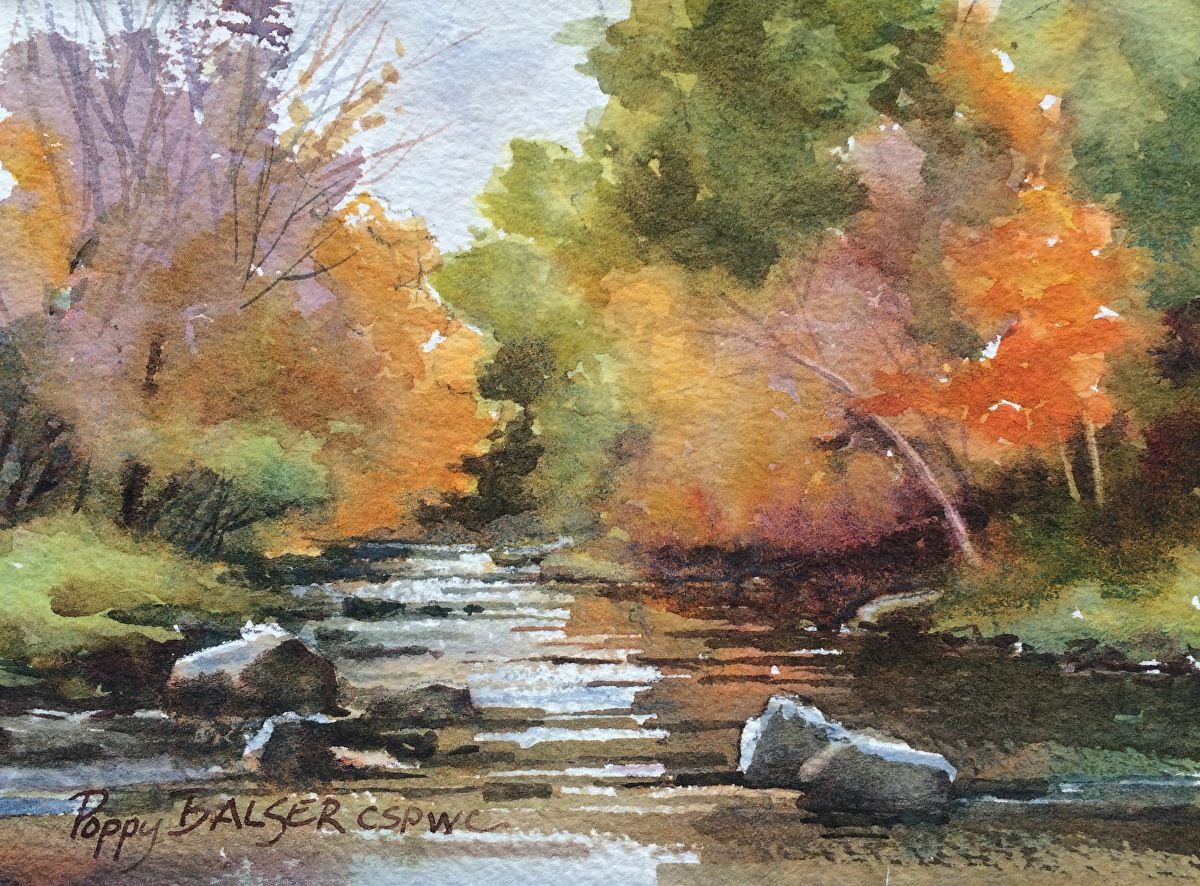 Rainy Day Watercolor Paintings