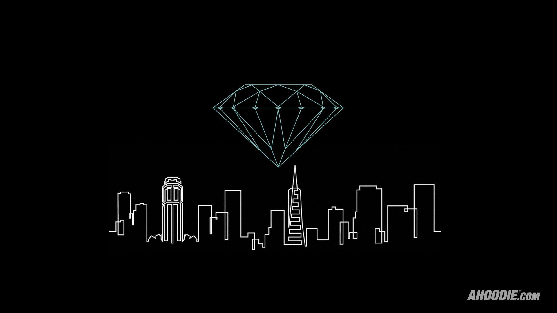 diamond supply co wallpaper fancy