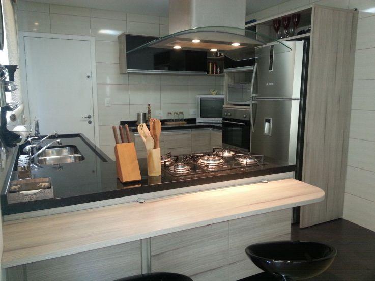 Cozinha Bancadas Pretas Cozinhas Modernas Com Bancada Cozinhas