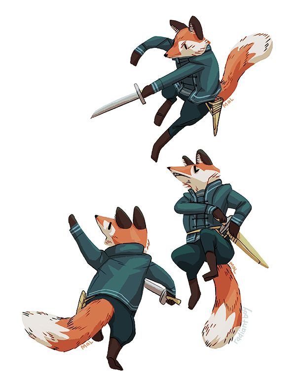 Fennec fox character design is part of Fennec Fox Wikipedia - Foxy soldier drawin'