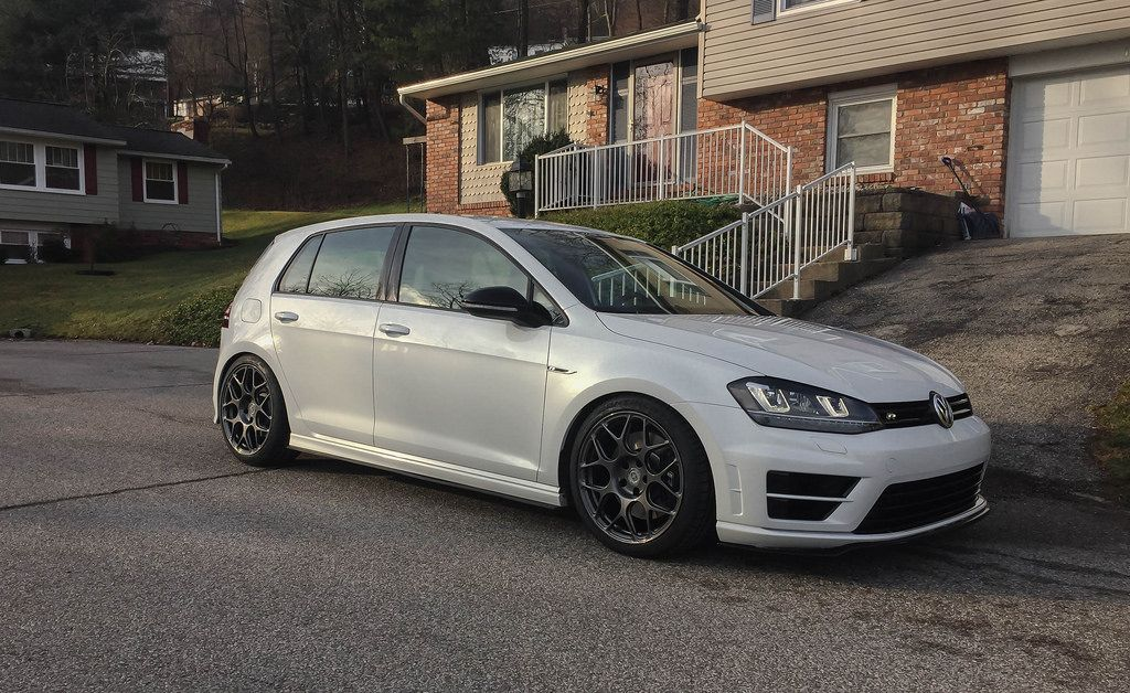 Mk7 Golf R Hre P40s 18x8 5 Et 38 Refinished In Crystal
