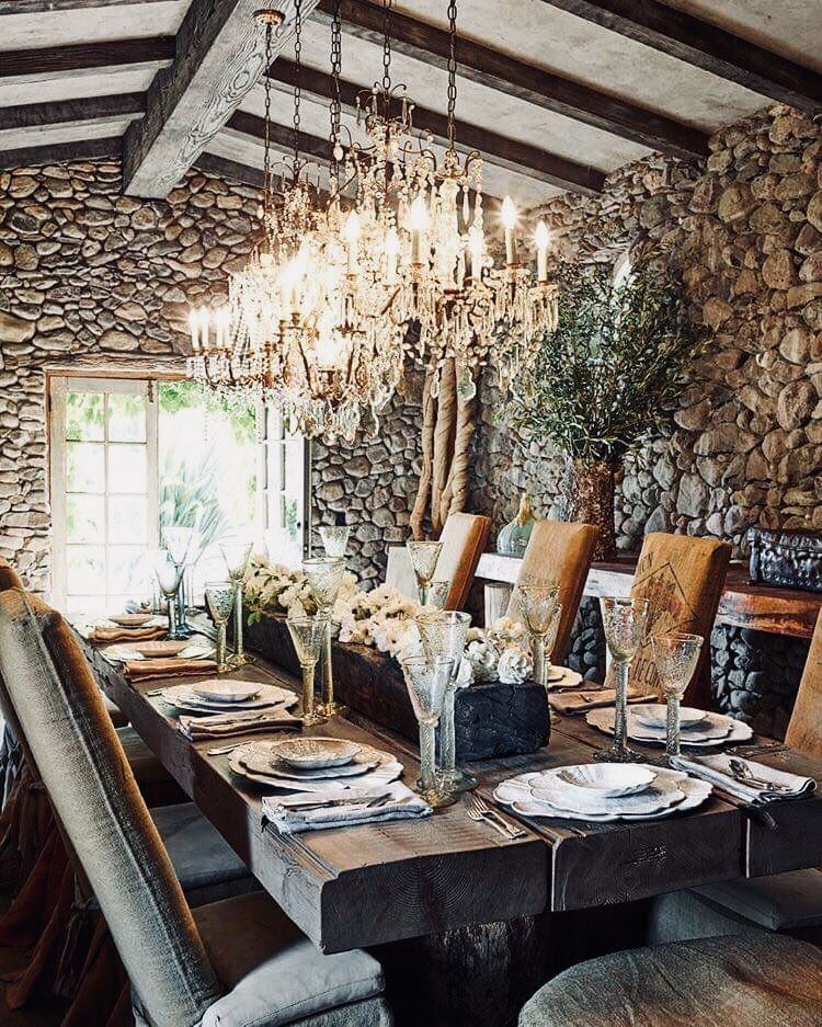"12 Rustic Dining Room Ideas: Thevisualvamp: ""Dinner Party """
