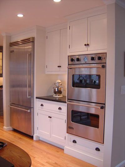 I deff need a double oven like this