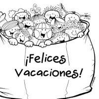 Cartel Felices Vacaciones Buscar Con Google Escuela Felices