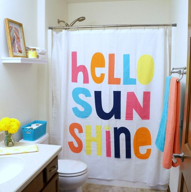 Colorful Bathroom Refresh Kid Bathroom Decor Bathroom Colors