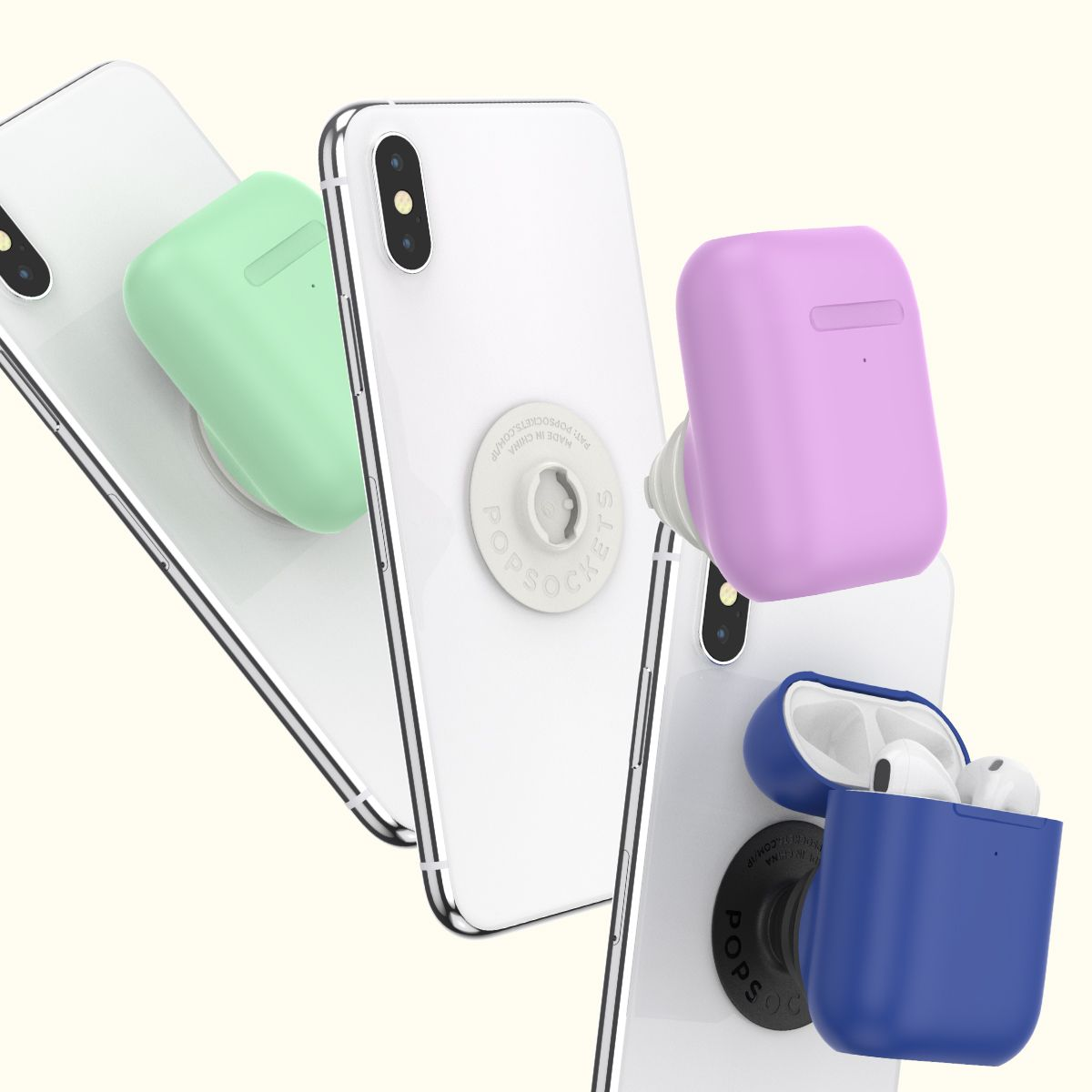 PopGrip AirPods Holder in 2020 Android case, Phone