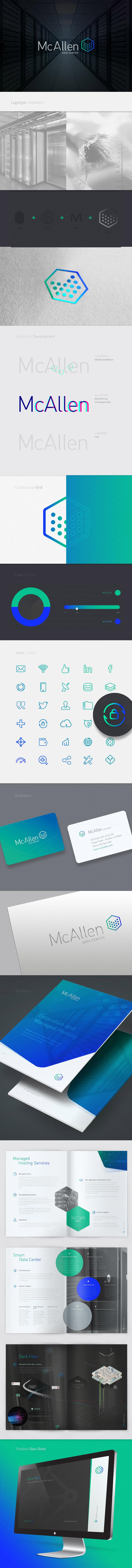 McAllen Data Center Branding by Lucas Gomez Freige