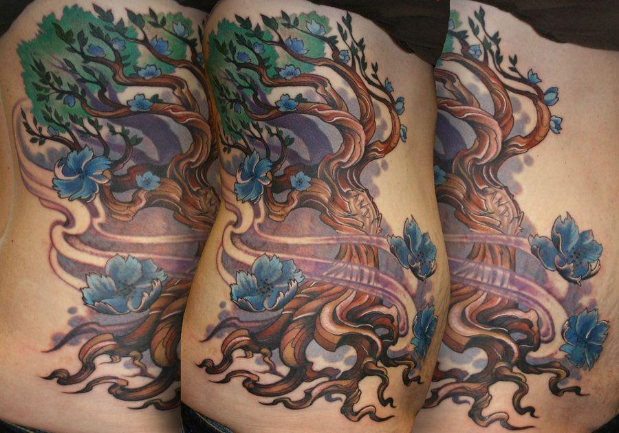 30 Realistic Tattoo Art Cartoon Tree Ideas Cartoon Trees Tattoos Art Tattoo A black and white tattoo that looks great on the shoulder. realistic tattoo art cartoon tree ideas