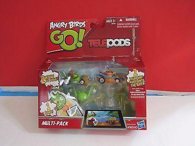 Go! ANGRY BIRDS Multi-PACK Rovio 2 Teleport Karts TELEPODS NEW