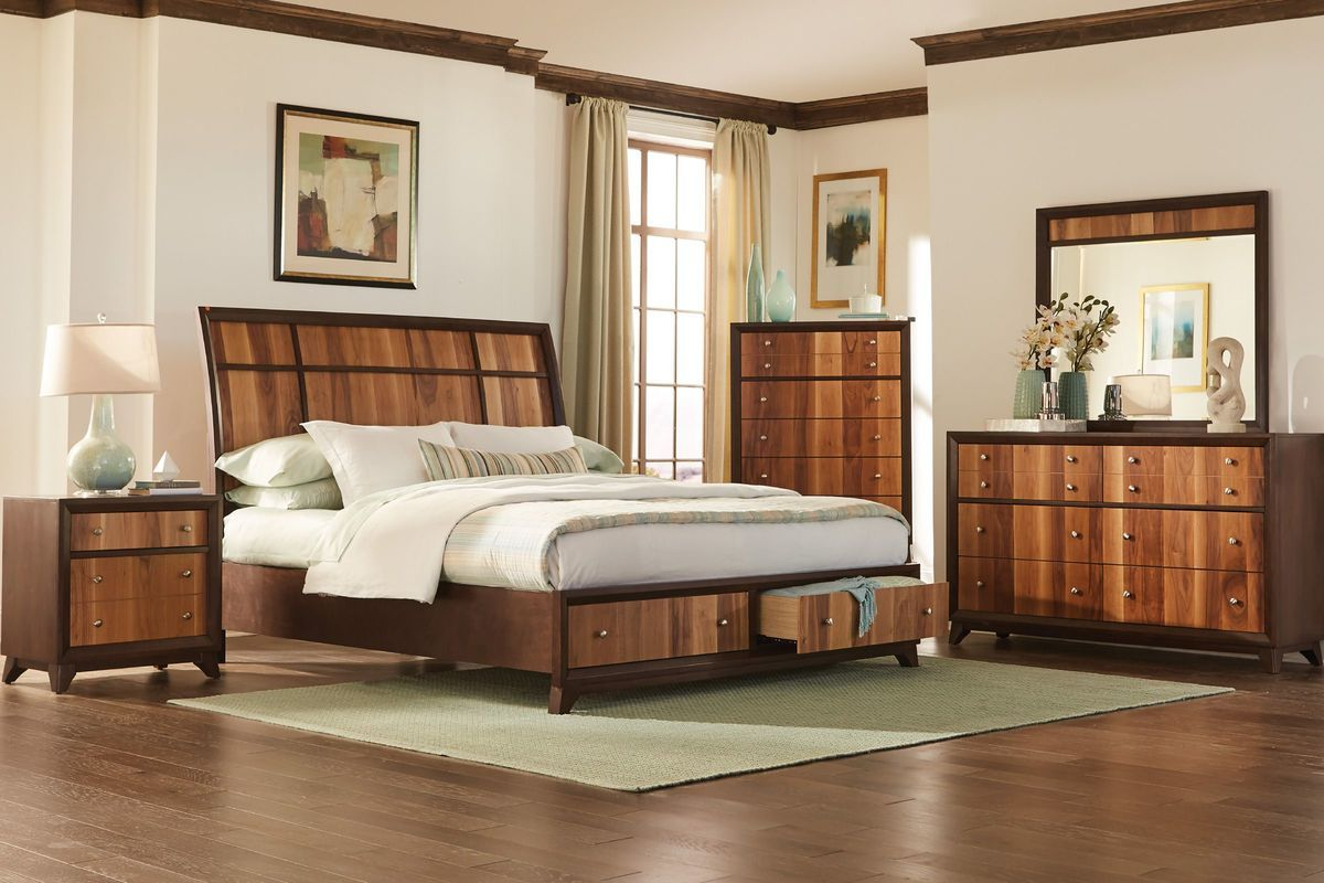 Kendall 5-Piece Queen Bedroom Set with 32\
