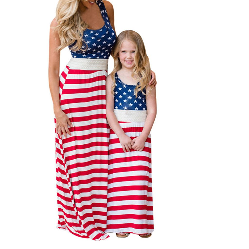 Mom And Me 4th Of July Outfits Summer Dress Outfits 4th Of July Dresses Mommy And Me Dresses [ 1024 x 1024 Pixel ]