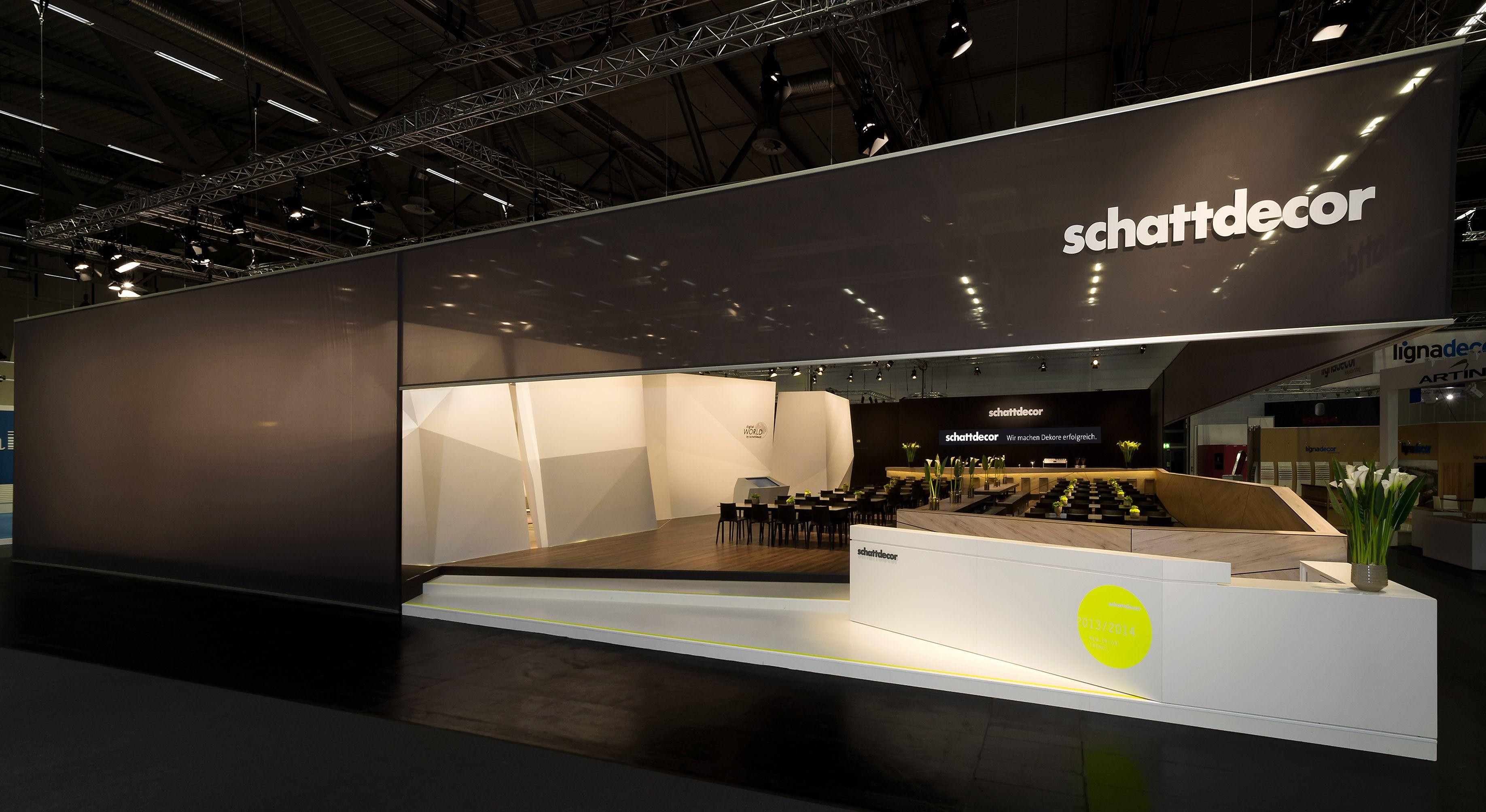 Exhibition Stand Design Decor S L : Schattdecor interzum l messedesign projekte