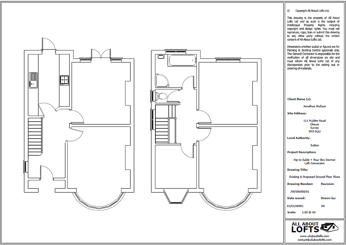 All About Lofts are specialist designers of Hip to Gable